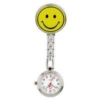 doktor izle gülümse toptan satış-Güzel Gülümseme ve pada tasarım moda hemşire doktor FOB cep saatleri unisex kadın bayanlar Tıbbi profesyonel hastane saati saatler