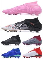 Wholesale shoelace new for sale - Discount cheap new Predator Falcon Top Waterproof FG shoelace football training Sneakers studded cleated boots Camping Hiking Boots
