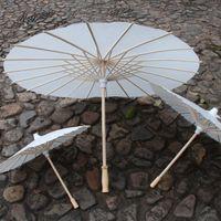 dibujo de paraguas al por mayor-Paraguas de papel de bricolaje Paraguas de papel de boda nupcial Hecho a mano en chino Mini dibujo Craft Umbrella para adornos colgantes WX9-537