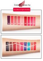 Wholesale good waterproof lipstick for sale - Pudaier Non stick Cup Nutritious Liquid Lip Gloss Glitter Flip Colors Glitter Pigment Diamond Waterproof Liquid Lipstick good quality