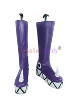 Wholesale Japanese Princess Costumes - Star vs.the Forces of Evil Princess Star Butterfly Purple Cosplay Shoe Boot X002