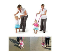 Wholesale protection baby online - Hot Infant Walking Belt Adjustable Strap Leashes Baby Learning Walking Assistant Toddler Safety Harness Protection Belt XXD free