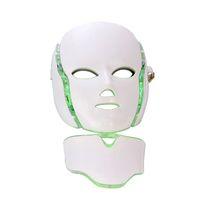 máquinas faciales de infrarrojos al por mayor-Home Spa Use PDT Máquina 7 colores Infrared Light Arrugas Quite el tratamiento para el acné Rejuvenecimiento de la piel Máscara facial con fotón LED