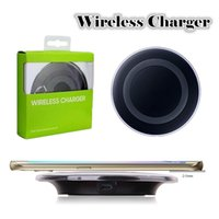 Wholesale charger qi samsung s7 edge for sale – best High Quality Fast Charging Universal Qi Wireless Charger for Samsung Galaxy S7 S6 S7 S6 Edge Esge Note iPhone X