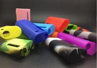 eleaf basic großhandel-Meistverkaufte Istick Grundlegende Silikonhülle Silikonhüllen Gummihülse Schutzhülle Haut Für Eleaf Ismoka Istick Grundlegende Vape Battery Box Mod