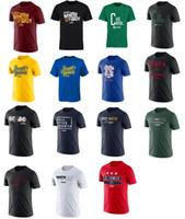 Wholesale green slogans - 2018 basketball Playoffs Slogan T-shirt Indiana Pacer Cleveland Cavalier heat blazers blazer 76 Buck thunder Pelican tee