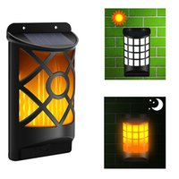 Wholesale solar lights for driveway resale online - DHL shipping Solar Wall Lights Outdoor Led Waterproof Lighting for Deck Fence Patio Front Door Stair Landscape Yard and Driveway Path