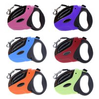Wholesale retractable dog leash large - 5m Large Retractable Dog Leash For Dogs Puppy Pet Lead Dog Collar Pet Traction Rope Chain Harness Goods For Pets Leash For Dogs