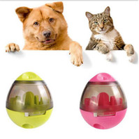 Wholesale ball toys for cat for sale - Dog Food Toy Interactive Tumbler Leaking Food Balls Pet Dog Toys Funny Chew Toys for Cats Dogs Pet IQ Treat Balls OOA5008