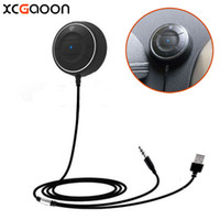 Wholesale bluetooth cell phone car for sale - Group buy XCGaoon NFC Bluetooth Handsfree Car Kit Speakerphone for For Samsung fit of Mobile cell phone Can Pair by NFC