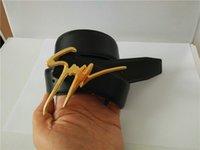 hebilla de metal cinturón de los hombres de la marca al por mayor-Venta caliente nuevos 20 modelos de cinturones para hombre para mujer Jeans cinturones para hombres Mujeres Hebilla de metal cinturones de marca con el tamaño de 105 cm-125 cm como regalo 26879