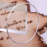 einzelnes goldarmband großhandel-ganzes sale925 Schmucksilber überzog Armband, silberne Art und Weiseschmucksachen einzelnen Ring-Armband / TYPQQALE YAHPWMPC