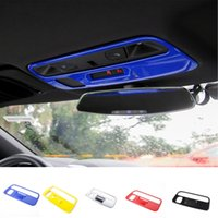 ABS Roof Reading Light Lamp Decoration Cover Accessories For Chevrolet Camaro 2017 Up Car Styling Interior Accessories