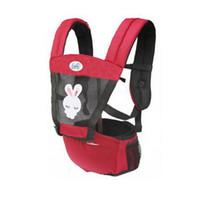 devant face bébé achat en gros de-Impression animale mignonne bébé transporteur infantile kangourou respirant Multifonctionnel enfants sling sac à dos pochette wrap avant face manduca
