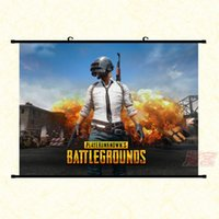 Wholesale Digital Paintings - Winer Winer Chicken Dinner Poster Playerunknowns Battlegrounds Characters Car Tools Game Poster PUBG Home Decoration University