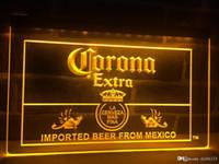 corona bar lichter großhandel-LE040y- Corona Mexico Bier Bar Pub Club LED Neonlicht-Zeichen
