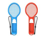 Wholesale tennis rackets prices for sale - Group buy buy pieces at low price tennis racket for N Switch Joy Con Controller Grips for super mari o game for NS Switch