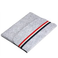 Wholesale 15 inches tablets for sale - 11 inch inch Portable Laptop Bag for Macbook air pro Wool Felt Fabric Liner Sleeve Tablet Pouch Case