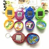 bébé électronique achat en gros de-2018 nouveau! tamagochi Electronic Pets Toys 90S Nostalgique 49 Animaux en un Virtual Cyber Pet Drôle Tamagochi jouets pour bébés pour enfants