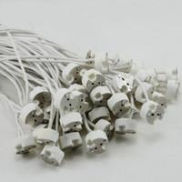 ingrosso g9 presa lampada-MR16 / MR11 / gu5.3 / g4 / g9 / gu10 cavo di rete base portalampada portalampada adattatore di base connettore per faretti