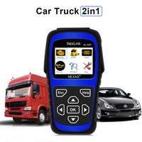 probador eléctrico toyota al por mayor-Nueva herramienta de diagnóstico de camiones NL102P DPF / Restablecimiento de aceite para camiones pesados diesel Diagnóstico de coches Diagnóstico 2 en 1 Herramienta de escaneo de códigos