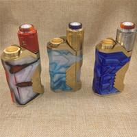 Wholesale Underground Box - Underground Squonk Box Kit with Underground 25mm RDA Fits 20700 21700 18650 Battery Bottom Feeding Mechanical Mod with 8ml Silicone Bottles