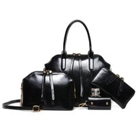 Wholesale leather lash resale online - Pink sugao new style Wax leather retro fashion Lashes designer handbags tote bag cross body bag women messenger shoulder bag
