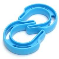 Wholesale Durable Plastic Clips - 2PCS Durable Gates Security Plastic U Baby Infant Safety Stopper Clip Doorways Gate Card Door Stop Security Safe Exit Door Card