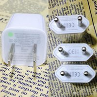 Wholesale iphone usb 4s - High Quality Original iPhone USB Wall Charging Chargers Cube Adapter USB Wall Charging Charger For Iphone 4s 5s 6s  6splus  7s 7s plus