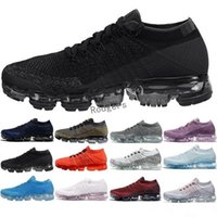 Wholesale women fashion winter boots - hotsale Rainbow VaporMax 2018 BE TRUE Shock Kids Running Shoes Fashion Children Casual Vapor Sports Shoes free shipping