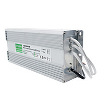 Wholesale voltage switch power supply resale online - Edison2011 V W Waterproof Switch LED Driver Power Supply Constant Voltage All Aluminum IP67 For Street Lighting