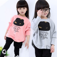 Wholesale Wholesale Baby Clothings - New Arrival Kids Clothings Children Tees Girl T-Shirts+Pants 2pcs set Top Quality Cute Clothings Baby Printed letter hats Fashion Hot Sellin
