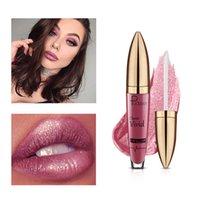 цветная косметика оптовых-Новый макияж водонепроницаемый pudaier блеск для губ матовая жидкая помада женская косметика полный чистый цвет, цвет сильный