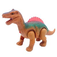 Wholesale mouth light toy for sale - Group buy Automatic Walking Electric Toy Removable Tail With Sound Animal Dinosaur Cool Light Mouth Toys For Gift fy BB