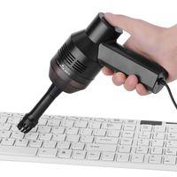 ingrosso mini aspirapolvere per pc-Mini USB Desk Aspirapolvere elettrico Kit tastiera portatile per la raccolta delle polveri per la pulizia delle briciole PC Desktop Trucco Borsa Pet House