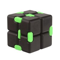 Wholesale Wholesale Stress Toys - Plastic Infinity Cube Infinity Cube 64g Infinity Cubes Fidget Toys ADHD Anti Stress Relief Novelty Toys Decompression Fidget Toys
