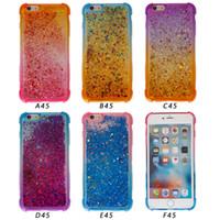 notiz-treibsand-fall großhandel-Treibsand TPU Hülle Für Samsung Galaxy J7 PRO J5 PRO Galaxy Note 8 Hülle Für iPhone X Rüstung Farbe ändern TPU Hülle B