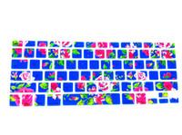 pro blumen großhandel-Flower Bloom Blossom Silikon Tastatur Hautschutz Cover Guard für Macbook Pro