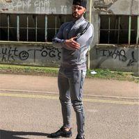Running Men Tracksuit Male Training Sportswear Fitness Body Hoodies+Pants suit