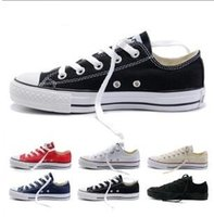 ccdbaf29742a drop shipping 2018 New canvas shoes men shoes star Low High unisex men  sneakers women sneakers shoes all size 35-45
