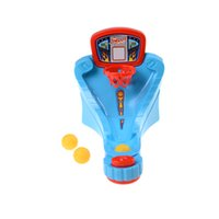 Wholesale basketball shooting toys online - Basketball Shooting Machine One Or More Players Game Toy Children Kids Basketball Game Training Toy for Boys Outdoor fun Mini