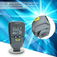Wholesale coat gauge tester for sale - Group buy Freeshipping Fe NFe mm for Car Instrument Iron Aluminum Base Metal Handheld Digital Paint Coating Thickness Gauge Tester