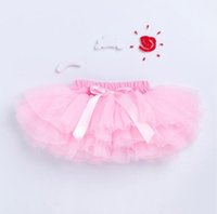 Wholesale ruffled girl panties for sale - Group buy Baby Bloomers Girls Pettiskirt TUTU underwear Panties Toddle Kids Underpants infant newborn ruffled satin PP pants Kids Clothes