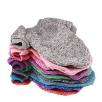 Wholesale christmas clothing for female dog for sale - Group buy 9 Solid Color Warm Dog Clothe Winter Spring Soft Cotton Sweater Clothing Puppy Coats for Small Dogs Chihuahua Christmas Pet Costume XS XXL