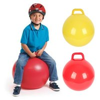 Wholesale Toy Kangaroos - Inflatable Space Hopper Ball (Hop Ball ,Kangaroo Bouncer ,Hoppity Hop ,Sit And Bounce ,Jumping Ball )Children 'S Toys 4 Colors
