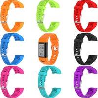 спортивные наручные часы наручные оптовых-ЛУЧШИЙ наручный ремешок для Garmin Vivosmart HR Plus HR + ремешок для часов с инструментами винт Спортивный силиконовый ремешок для часов ремешок браслет браслет