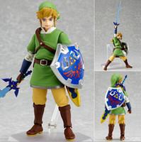 Wholesale zelda link action figure for sale - Group buy New Design cm Legend Of Zelda Link Mobile Collection Action Figure Toy Christmas Gift Doll With Original Box