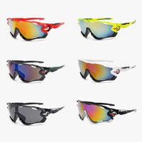 Wholesale motorcycles sunglasses online - UV400 Cycling Eyewear Bike Bicycle Sports Glasses Hiking Men Motorcycle Sunglasses Reflective Explosion proof Goggles