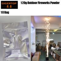 Wholesale spark light online - 10 Bag ti powder titanium metal powder for stage cold spark fountain fireworks machine TIPTOP STAGE LIGHT EMS freeshipping