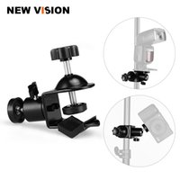 Wholesale camera flash clamp for sale - Group buy clip clamp Photo Studio U Clip Clamp with Ball Head Bracket for Camera Flash Light Stand